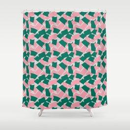Shredded Paper Shower Curtain