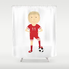 champion football Shower Curtain