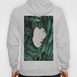 Nature Walk 001 - White Leaf Hoody