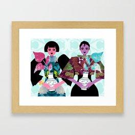 Merry Widows Framed Art Print