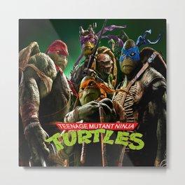 teenage mutant ninja turtles Metal Print