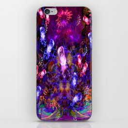 Jelly Coral Glow iPhone Skin