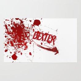 Dexter blood spatter Rug