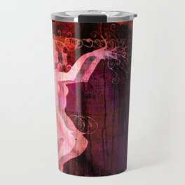 Alice Dancing Darkly (edit7) Travel Mug