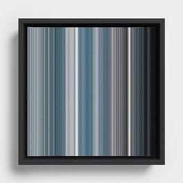 Scanline   Ocean 100 Framed Canvas