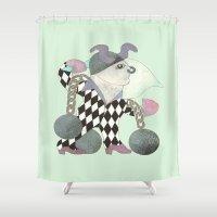 taurus Shower Curtains featuring Taurus by monika petersen
