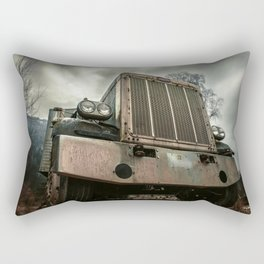 Rusty Warrior Rectangular Pillow