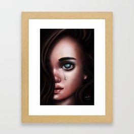 The Last Tear Framed Art Print