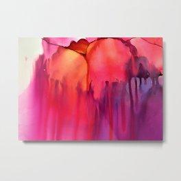 Flower Melt Trois Metal Print