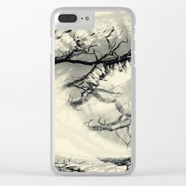 Vision of the Tree Abstract Clear iPhone Case