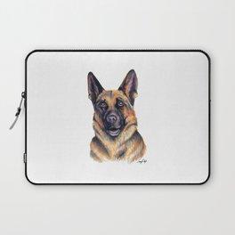 German Shepard - Dog Portrait Laptop Sleeve