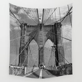 Welcome to Brooklyn Wall Tapestry