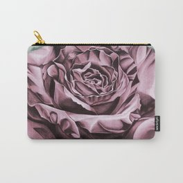 Fifties Rose, pastel drawing Carry-All Pouch