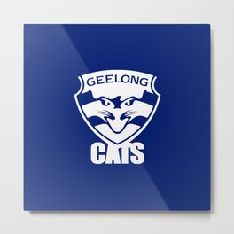 GEELONG CATS Metal Print