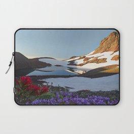 Alpine Wildflowers Laptop Sleeve