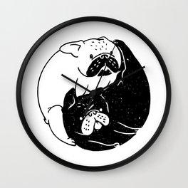 The Tao of French Bulldog Wall Clock