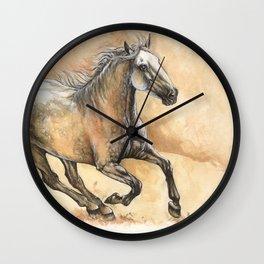 Running lusitano Wall Clock