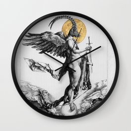 notre dame des oubliés - our lady of the forgotten Wall Clock