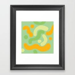 Tropical - Flu Framed Art Print