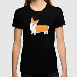 Fun Pembroke Welsh Corgi Pattern T-shirt