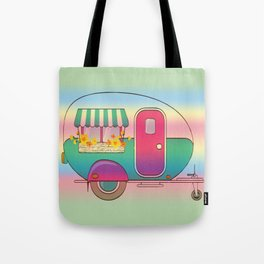 Happy Camper RV Camping Tote Bag
