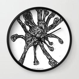 Bacteria. Wall Clock