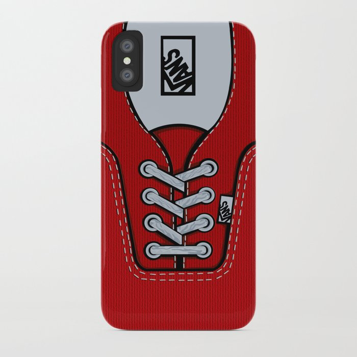 Red Vans Shoes IPhone 4 4s 5 5s 5c Ipod Ipad Pillow Case And