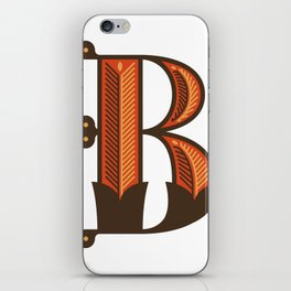 The Letter B iPhone Skin