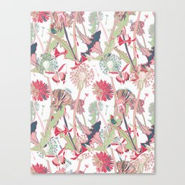 spring blossom flowers Canvas Print