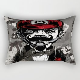Super Mario Father Rectangular Pillow