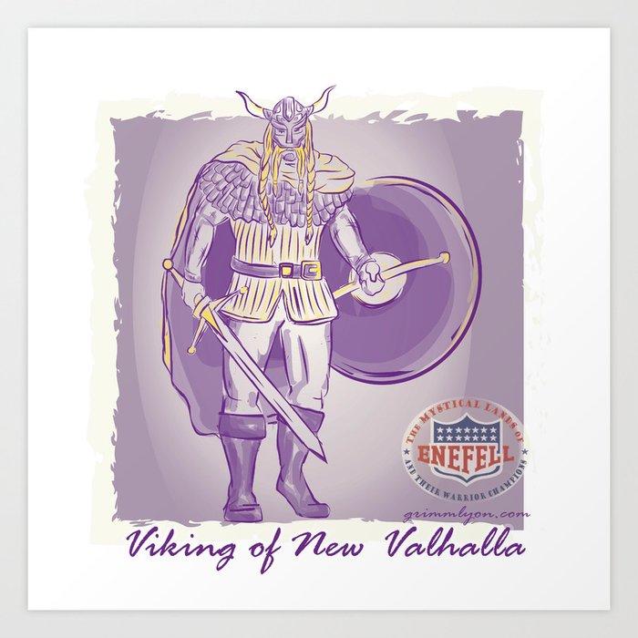 Viking of New Valhalla Art Print