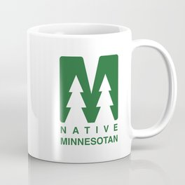 Native Minnesotan Graphic Coffee Mug