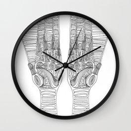 Hand guide Wall Clock