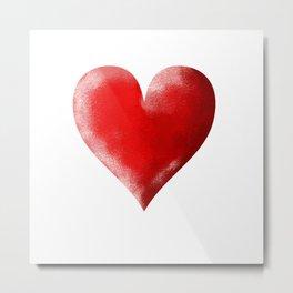 I Heart Metal Print