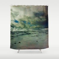 iceland Shower Curtains featuring Iceland 1 by S. Miste