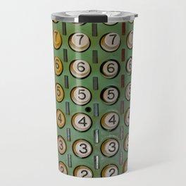Vintage Numerical Key Punch Travel Mug