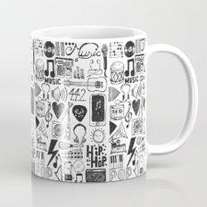Music Doodles Coffee Mug