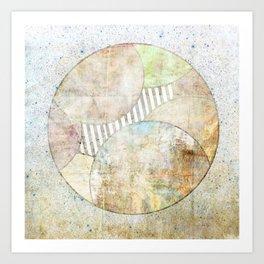 Hidden Planet Art Print