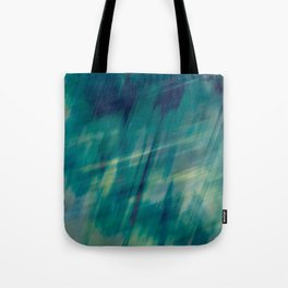 Submerge Aqua Tote Bag