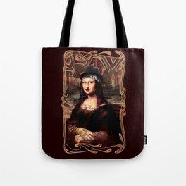 Chicana Mona Lisa Tote Bag