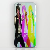 han solo iPhone & iPod Skins featuring Han Solo by Iotara