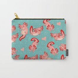 Axolotls Carry-All Pouch