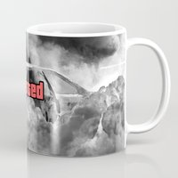 gta Mugs featuring Wasted GTA by JOlorful