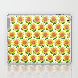 Sunflower Pattern_I Laptop & iPad Skin