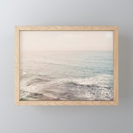 Peachy Sunset Dreams Framed Mini Art Print