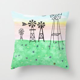 skyscapes 11 Throw Pillow