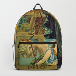 1910 Fernet Branca Liqueur Aperitif Advertisement Poster Print Backpack