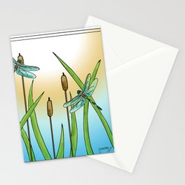 Dragonflies Fly Stationery Cards