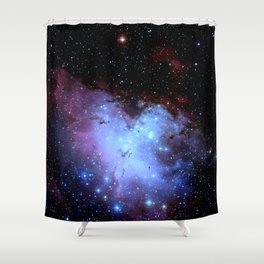 Eagle nEbula. Shower Curtain