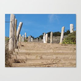 Sutro Heights Steps Canvas Print